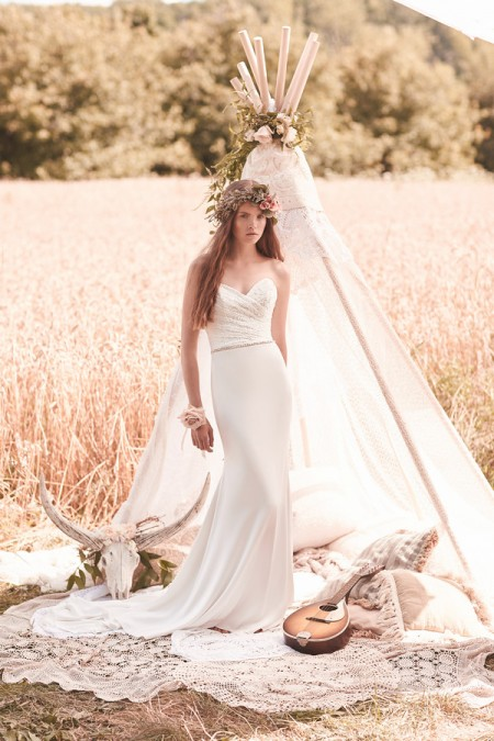 2064 Wedding Dress - Mikaella Spring 2016 Bridal Collection