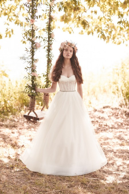 2065 Wedding Dress - Mikaella Spring 2016 Bridal Collection