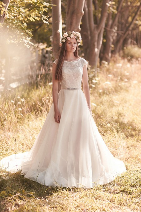 2068 Wedding Dress - Mikaella Spring 2016 Bridal Collection