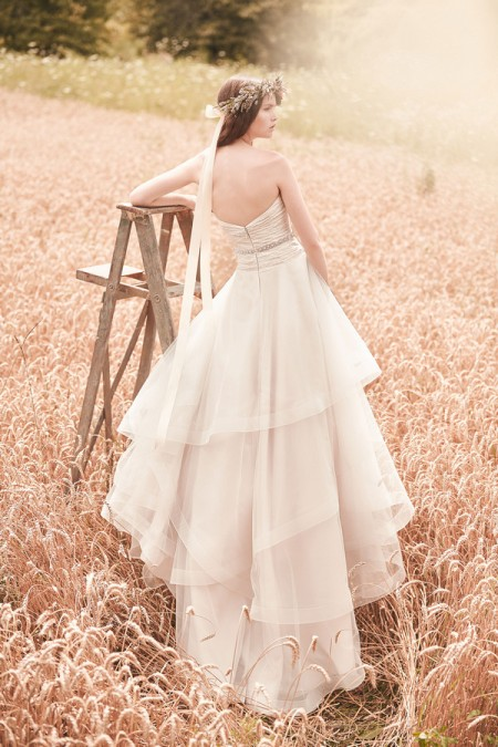 Back of 2070 Wedding Dress - Mikaella Spring 2016 Bridal Collection