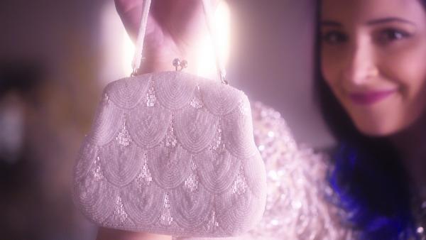 Bride's purse