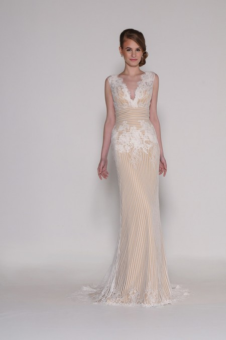 4005 Amelia Wedding Dress - Eugenia Couture Signature Spring 2016 Bridal Collection