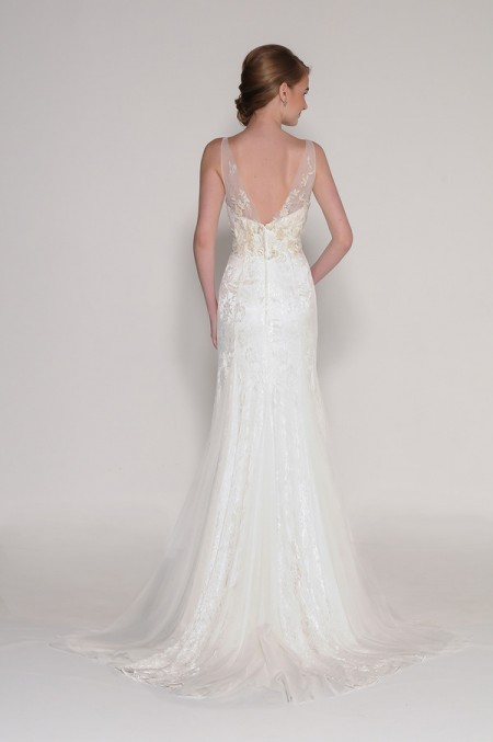 Back of 4006 Louisa Wedding Dress - Eugenia Couture Signature Spring 2016 Bridal Collection