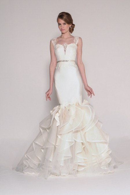 4007 Nia Wedding Dress - Eugenia Couture Signature Spring 2016 Bridal Collection