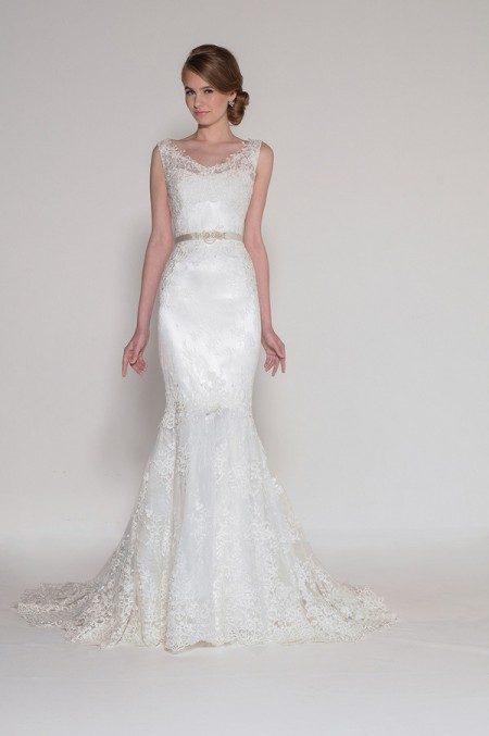 4010 Cynthia Wedding Dress - Eugenia Couture Signature Spring 2016 Bridal Collection