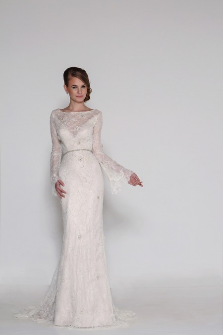 4013 Fiona Wedding Dress - Eugenia Couture Signature Spring 2016 Bridal Collection