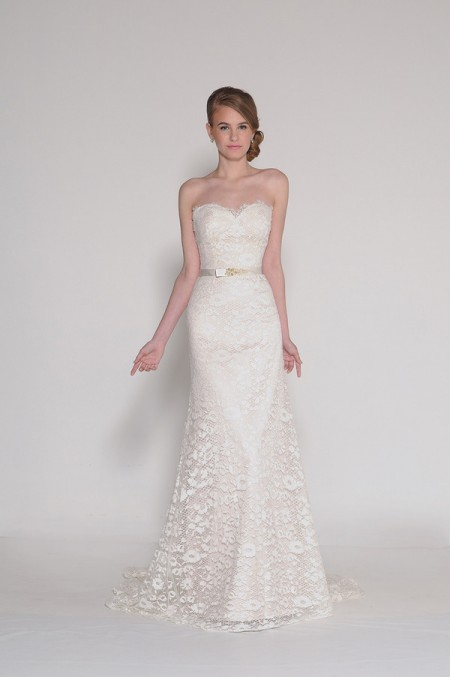 4014 Phoebe Wedding Dress - Eugenia Couture Signature Spring 2016 Bridal Collection