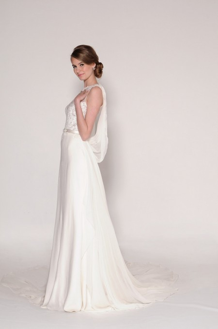4016 Harmony Wedding Dress - Eugenia Couture Signature Spring 2016 Bridal Collection