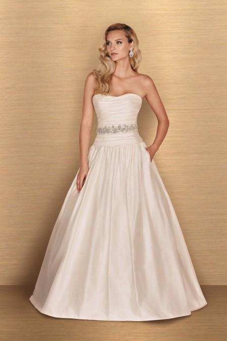 4654 Wedding Dress - Paloma Blanca Spring 2016 Bridal Collection