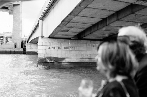 London Bridge written on bridge