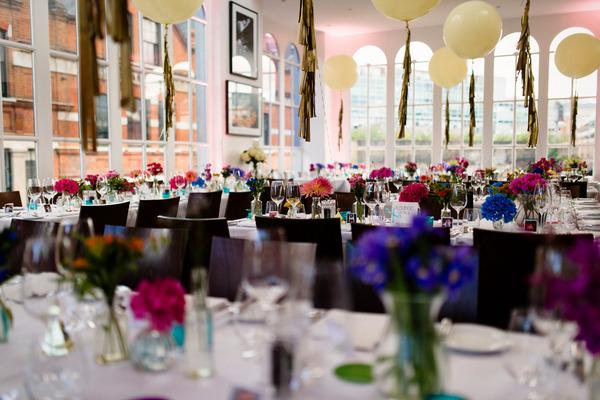 Wedding tables in Roast, Borough Market