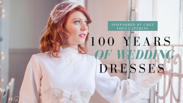 100 Years of Wedding Dresses header