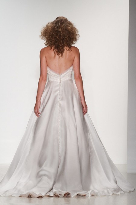 Back of Abigail Wedding Dress - Matthew Christopher Enduring Love 2016 Bridal Collection