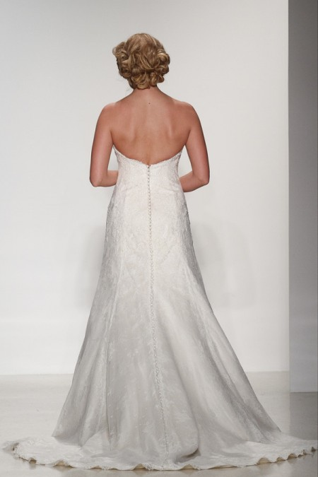 Back of Adaline Wedding Dress - Matthew Christopher Enduring Love 2016 Bridal Collection