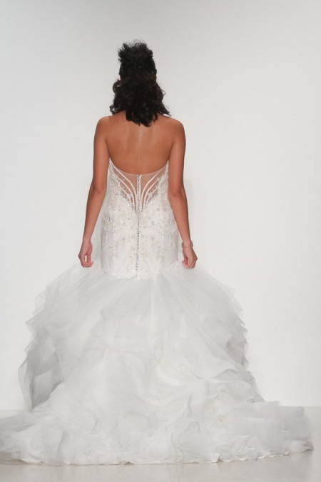 Back of Adriana Wedding Dress - Matthew Christopher Enduring Love 2016 Bridal Collection