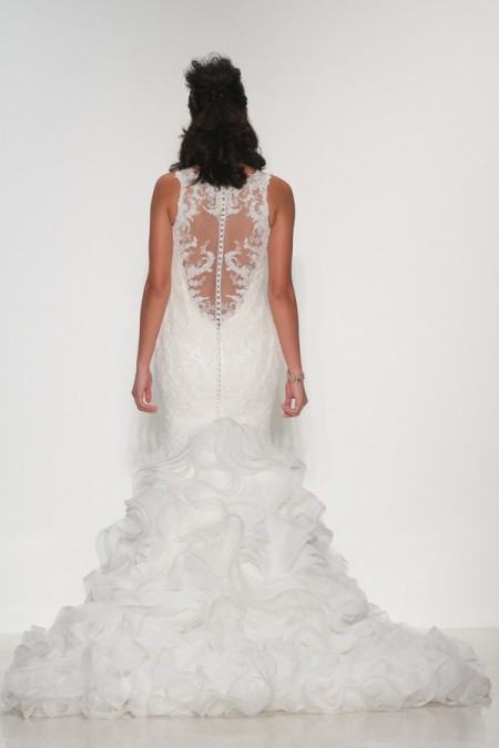 Back of Alexis Wedding Dress - Matthew Christopher Enduring Love 2016 Bridal Collection