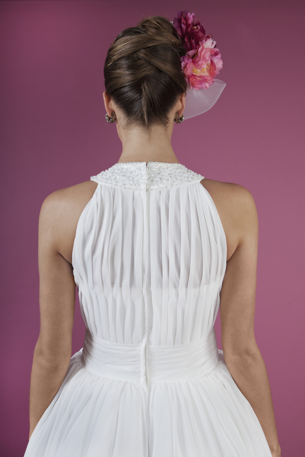 Back of Berry Crush Wedding Dress - Kitty and Dulcie Ruby Bloom 2016 Bridal Collection