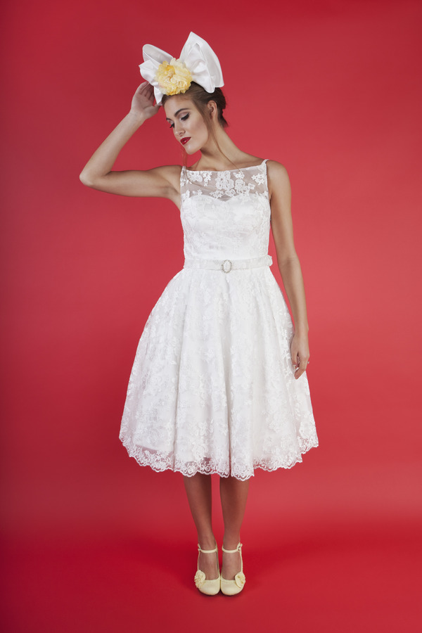 Cherry Baby Wedding Dress - Kitty and Dulcie Ruby Bloom 2016 Bridal Collection