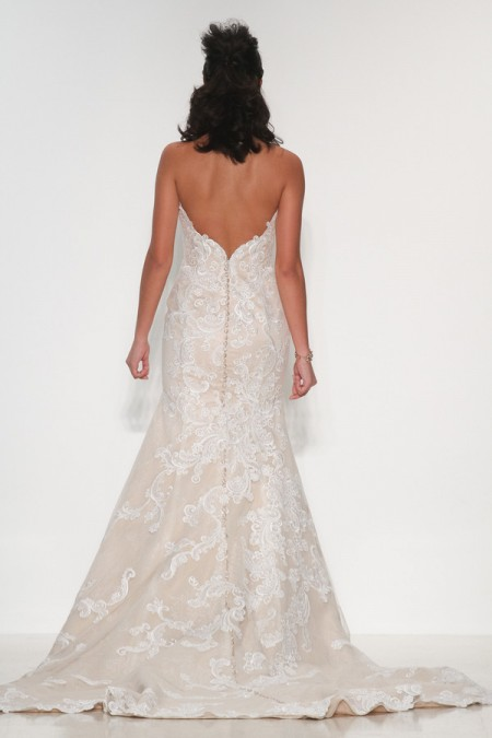 Back of Daniella Wedding Dress - Matthew Christopher Enduring Love 2016 Bridal Collection