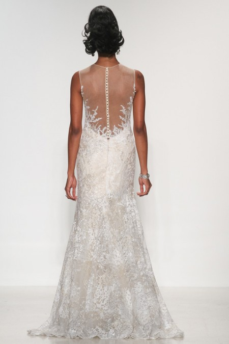 Back of Finley Wedding Dress - Matthew Christopher Enduring Love 2016 Bridal Collection