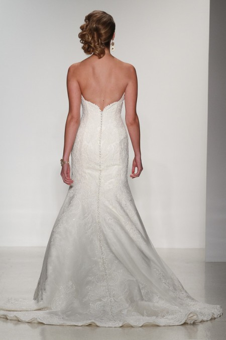 Back of Isabel Wedding Dress - Matthew Christopher Enduring Love 2016 Bridal Collection