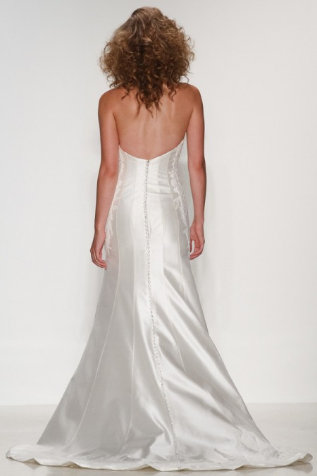 Back of Julia Wedding Dress - Matthew Christopher Enduring Love 2016 Bridal Collection