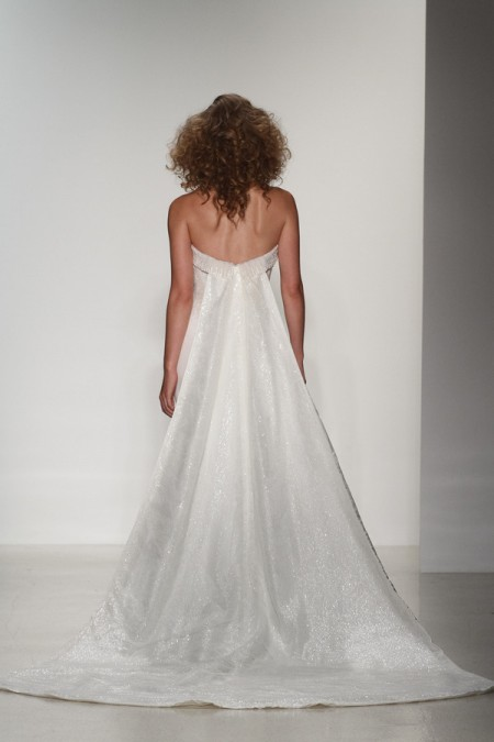 Back of Kennedy Wedding Dress - Matthew Christopher Enduring Love 2016 Bridal Collection