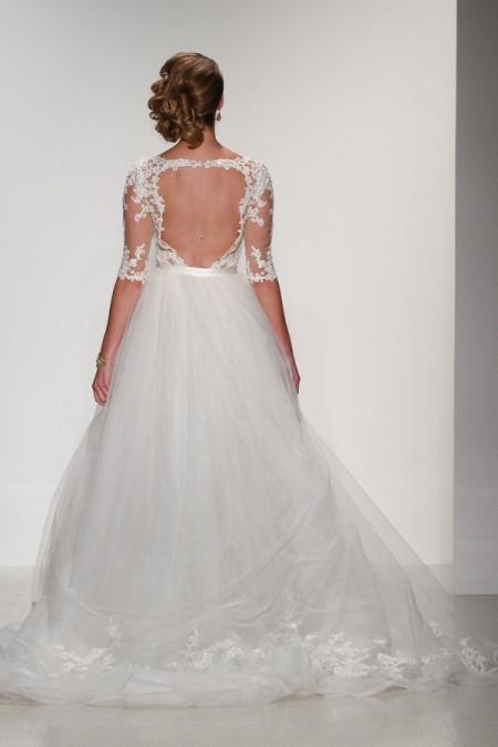 Back of Kingsley Presley Wedding Dress - Matthew Christopher Enduring Love 2016 Bridal Collection