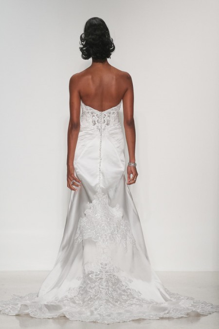 Back of Lillian Wedding Dress - Matthew Christopher Enduring Love 2016 Bridal Collection