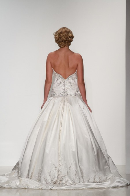 Back of Mia Wedding Dress - Matthew Christopher Enduring Love 2016 Bridal Collection