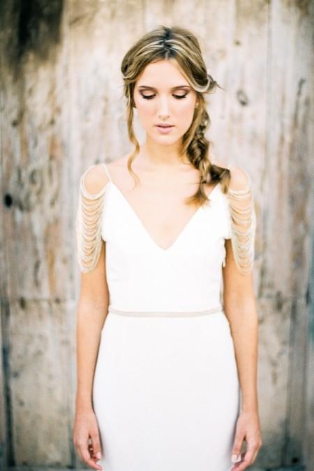 Nuria Gold Wedding Dress - Luella's 2016 Bridal Collection