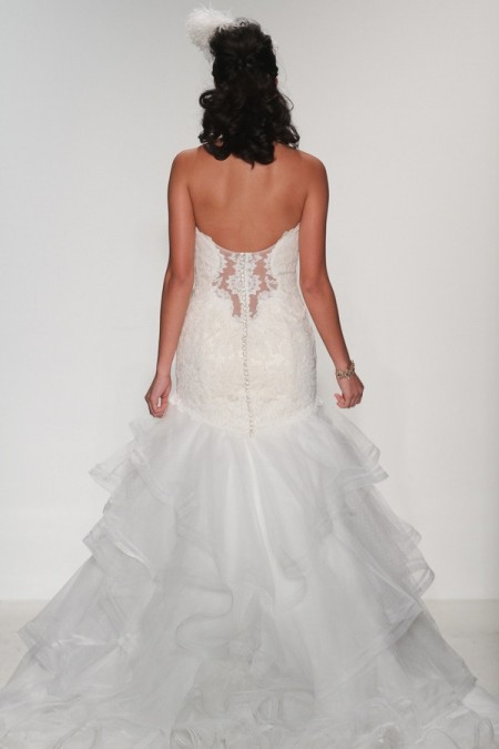 Back of Penelope Wedding Dress - Matthew Christopher Enduring Love 2016 Bridal Collection