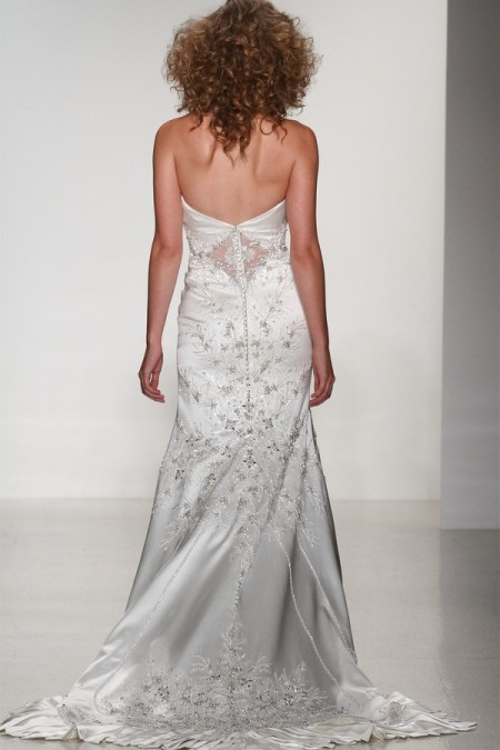 Back of Porscia Wedding Dress - Matthew Christopher Enduring Love 2016 Bridal Collection