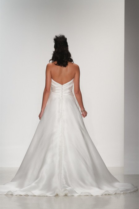 Back of Quinn Wedding Dress - Matthew Christopher Enduring Love 2016 Bridal Collection