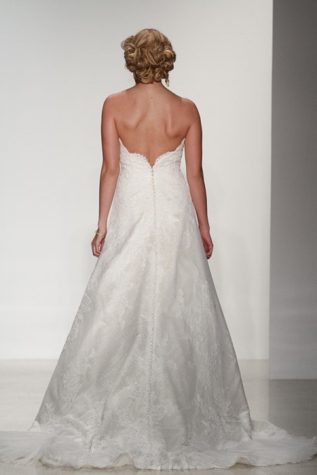 Back of Savannah Wedding Dress - Matthew Christopher Enduring Love 2016 Bridal Collection