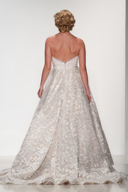 Back of Shelby Wedding Dress - Matthew Christopher Enduring Love 2016 Bridal Collection