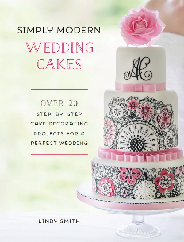 Simply Modern Wedding Cakes Cover
