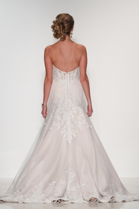 Back of Valerie Wedding Dress - Matthew Christopher Enduring Love 2016 Bridal Collection