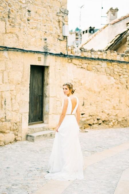 Back of Zara Wedding Dress - Luella's 2016 Bridal Collection