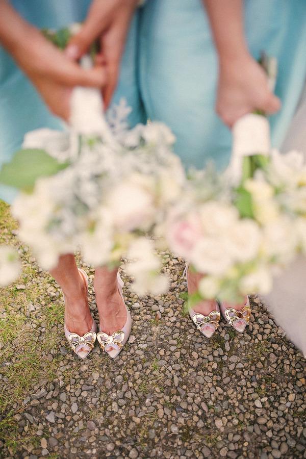 Bridesmaids' shoes