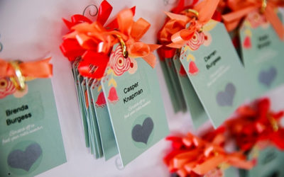 A Classic and Elegant Wedding with a Splash of Colour