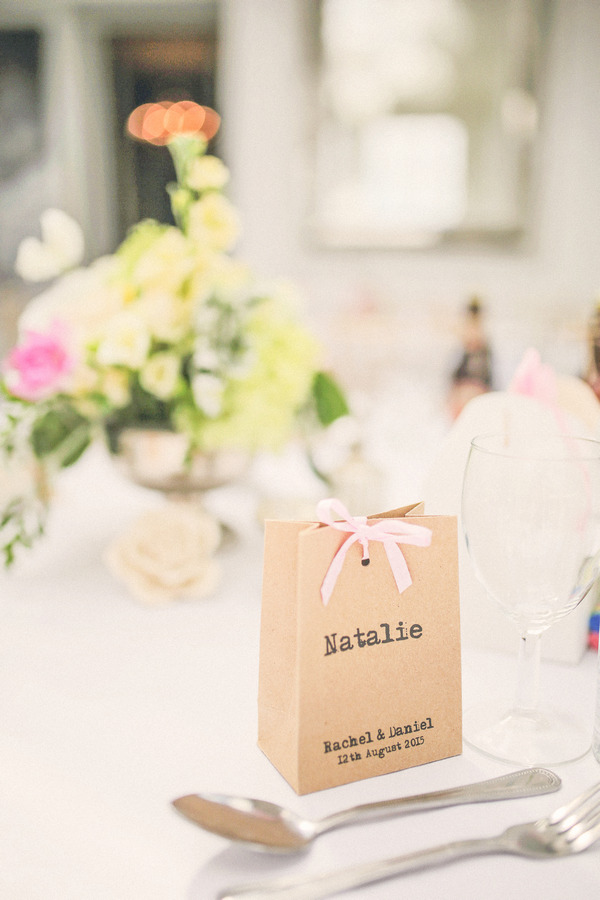 Small bag wedding favour