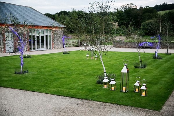 Grounds of Farbridge wedding venue