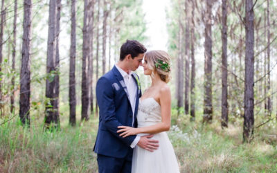 Intimate Woodland Wedding Inspiration