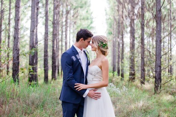 Intimate Woodland Wedding Inspiration