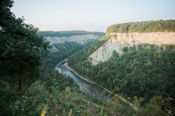 View from Letchworth State Park
