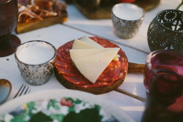 Chorizo and cheese