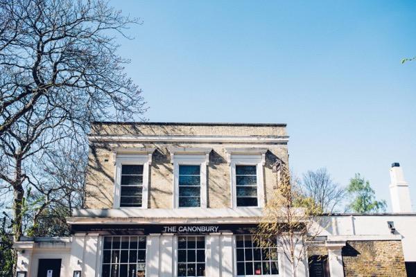 The Canonbury pub, Islington