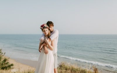 Bohemian Elopement Styled Shoot in Spain
