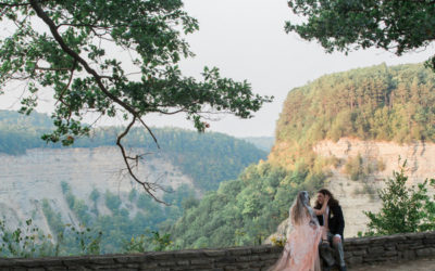 An Intimate Outdoor Wedding in Letchworth State Park, New York